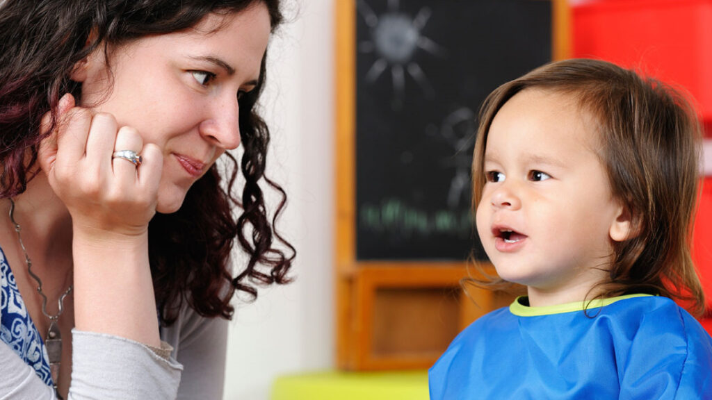 Acknowledge your child's mistakes